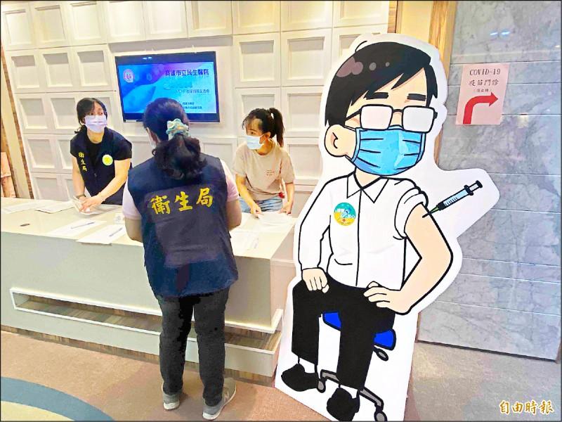 高雄市超過9成機師、空服員未打疫苗,衛生局呼籲儘快接種。(記者黃旭磊攝)