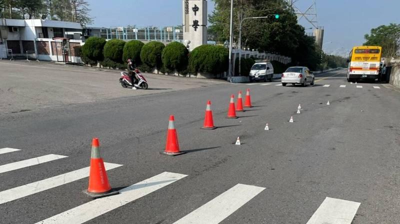 台中市165公車輾斃嘉陽高中女學生。(記者張軒哲翻攝)