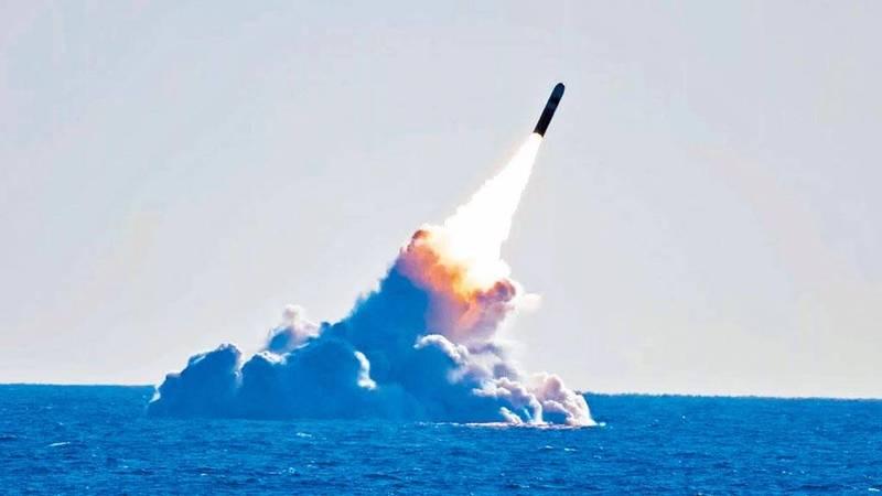 中国094A「晋级」核动力潜舰,据称配备中国迄今射程最远的「巨浪3型」潜射弹道飞弹,射程涵盖美国全境。(取自网路)(photo:LTN)