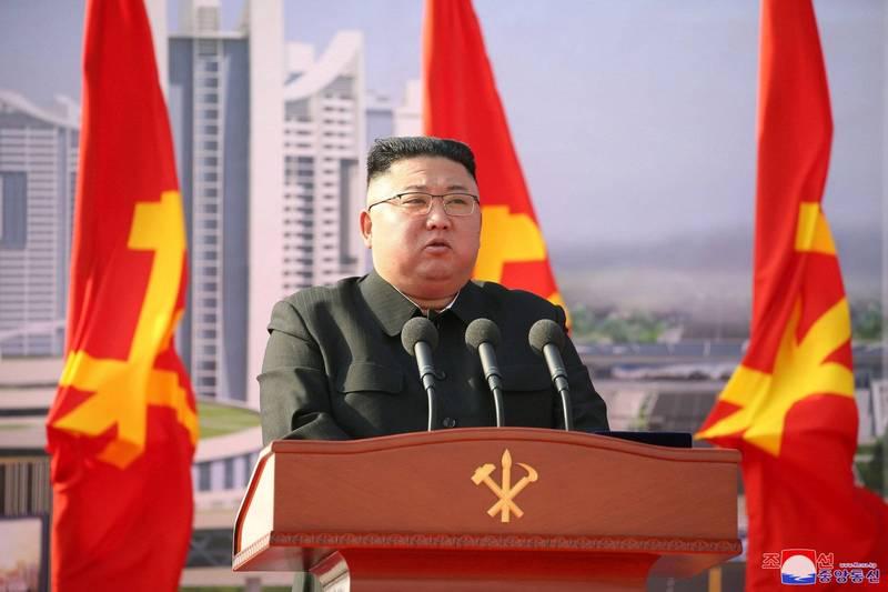 拜登政府確立北韓政策,北韓外交部門透過官媒放話,強調拜登犯下大錯,美國將面臨「日意惡化且無法控制的危機」。圖為北韓最高領導人金正恩。(路透)