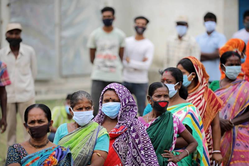 印度今年4個邦以及1個中央直轄區進行地區議會選舉,於今天(2日)統一開票。(歐新社)