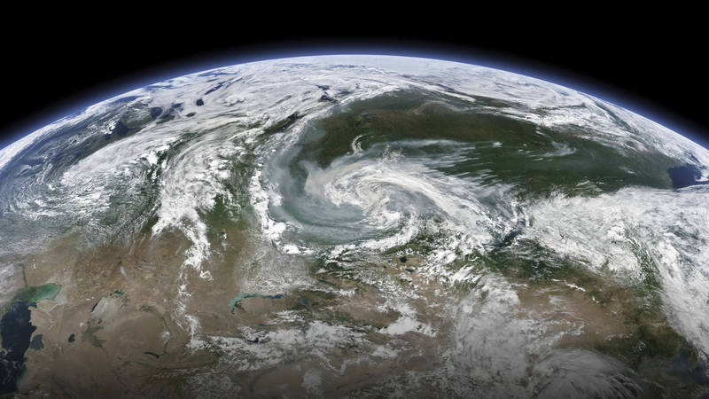 科學家發現,佔地表70%面積的水重量正在轉移中,進而造成南北極漂移、地球傾斜。(美聯社檔案照)