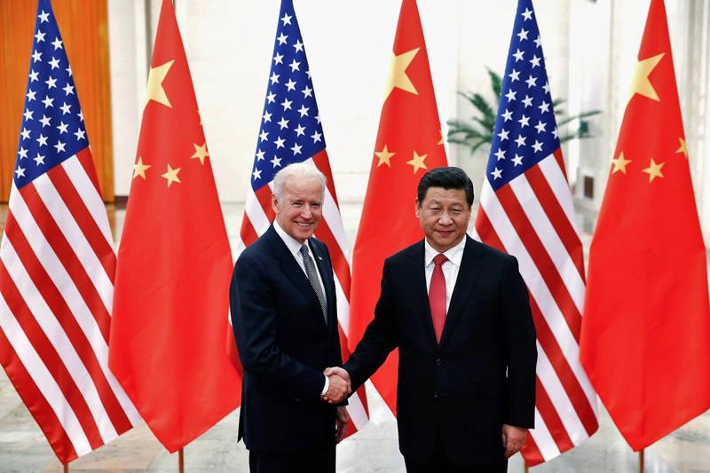 龐皮歐強調,拜登政府決定重新加入巴黎氣候協定,「這是給中國共產黨主席習近平總書記的最大的禮物」。(路透檔案照)