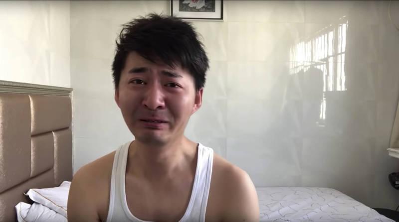 中国公民记者陈秋实(见图)等人于去年武汉封城期间,在当地拍摄实况影片。(美联社)(photo:LTN)