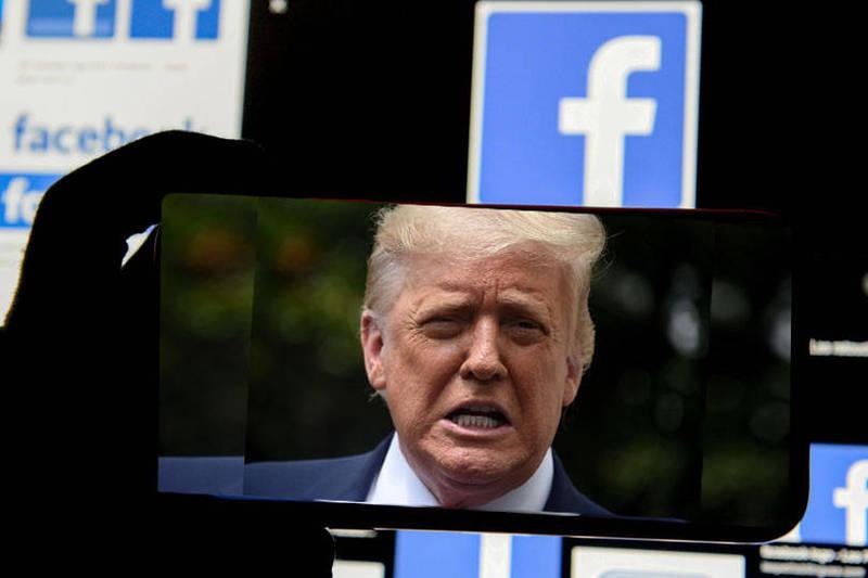 臉書的監督委員會(Oversight Board)表示,將在美東時間週三上午9時(台灣時間週三晚間9時)宣布是否恢復川普的帳號。(本報合成)
