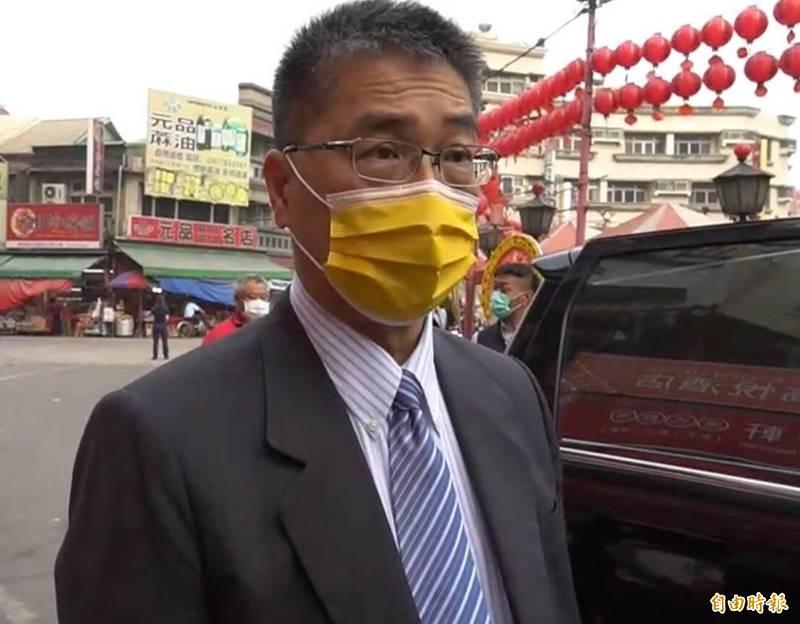 內政部長徐國勇今天上午受訪指出,第一時間已指示警政署等警察單位儘速查明滋事原因及全力掃盪不法行為。(記者黃淑莉攝)