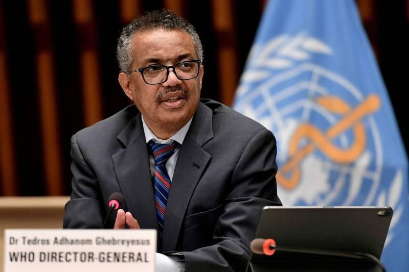 世衛秘書長譚德塞傳有意尋求連任,但恐怕難以獲得祖國衣索比亞支持。(路透)