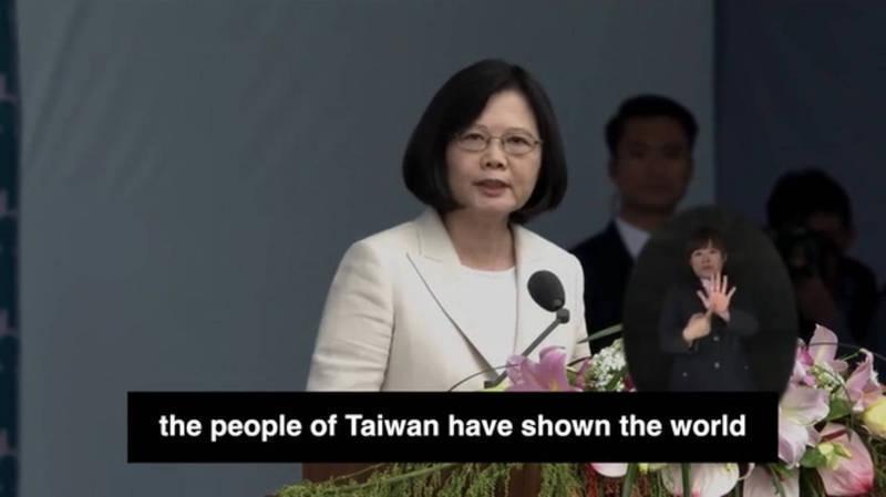 哈利法克斯國際安全論壇今天宣布,正式將今年的「馬侃獎」(John McCain Prize)頒贈給台灣總統蔡英文。(翻攝自HFX影片)
