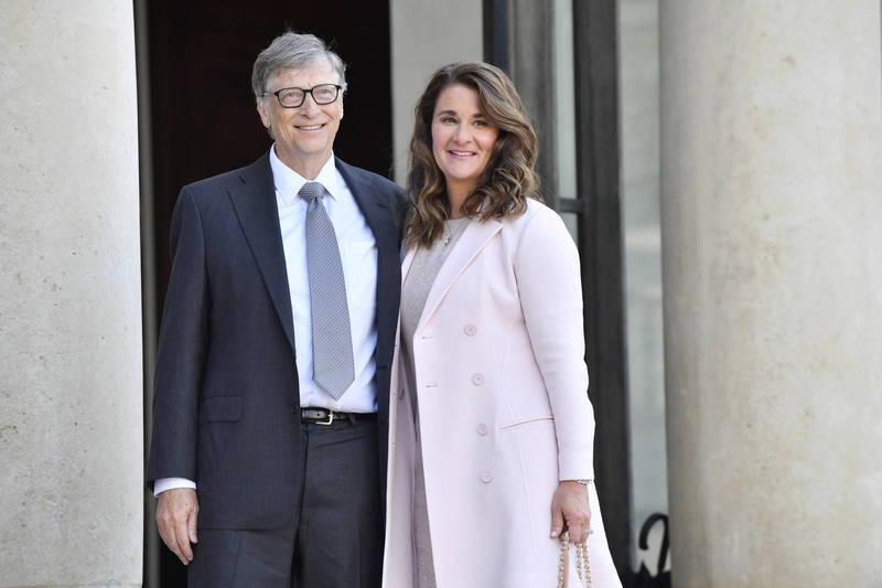 前首富比爾蓋茲與梅琳達宣布離婚,離婚後的財產分配成了外界焦點。(歐新社)