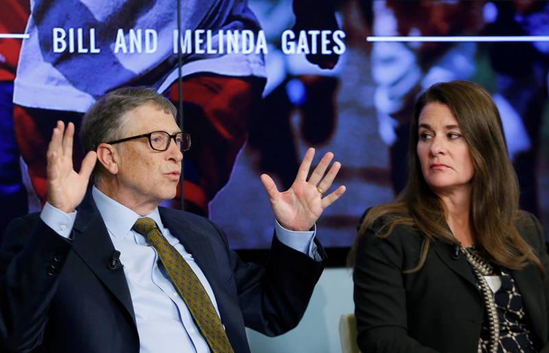 微軟創辦人比爾蓋茲(Bill Gates)宣布與妻子梅琳達蓋茲(Melinda Gates)離婚。(路透)