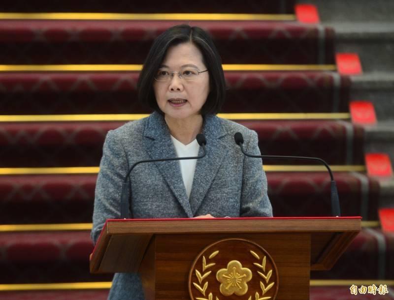 針對三接外推方案,蔡英文(見圖)指出,將會再提出更多具體的行動,更要大家一同為台灣做出正確的決定。(資料照)