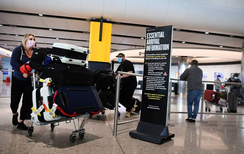 英國將宣布旅遊綠燈清單國家,可供民眾短期旅遊。(歐新社)