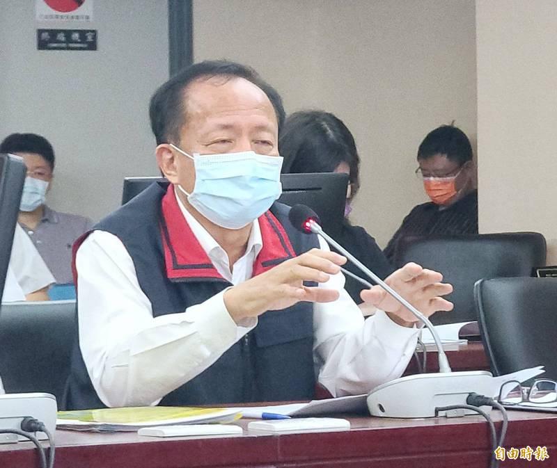 台北市警察局長陳嘉昌。(資料照)