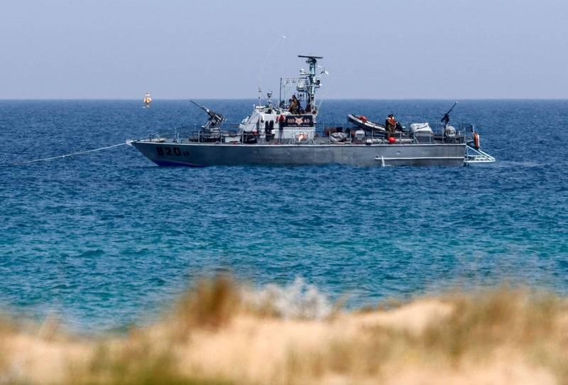 以色列及黎巴嫩恢復2020年12月起中斷的海上邊界談判。(法新社)