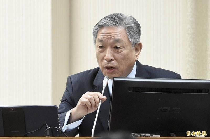 外交部政次田中光列席立院備詢。(資料照)