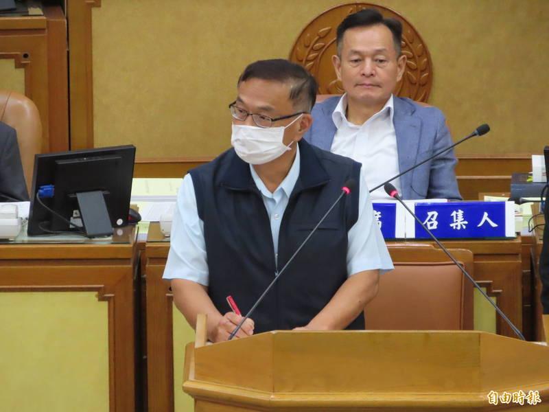 新北市警察局局長黃宗仁表示,台灣警察會團結對付幫派黑道。 (記者何玉華攝)