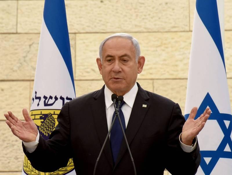 以色列總理納坦雅胡未能在期限內組成新政府。(路透)