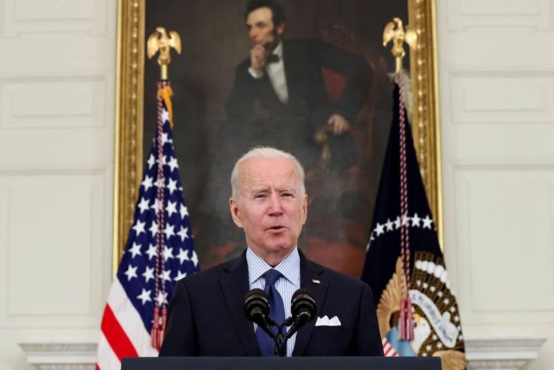 美國總統拜登昨(4)日與阿布達比王儲穆罕默德通話,兩人強調阿聯和以色列關係正常化的戰略意義。(路透社)