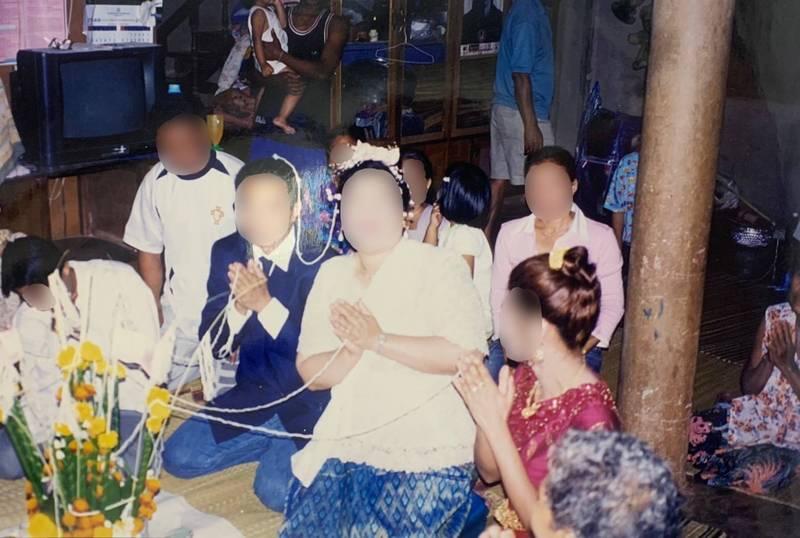 李姓婦人曾為了賺10萬元到泰國假結婚。(記者黃佳琳翻攝)