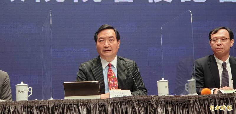 G7外長會議挺台,行政院發言人羅秉成表示,讓世界看到台灣在公衛的重要性。(記者李欣芳攝)