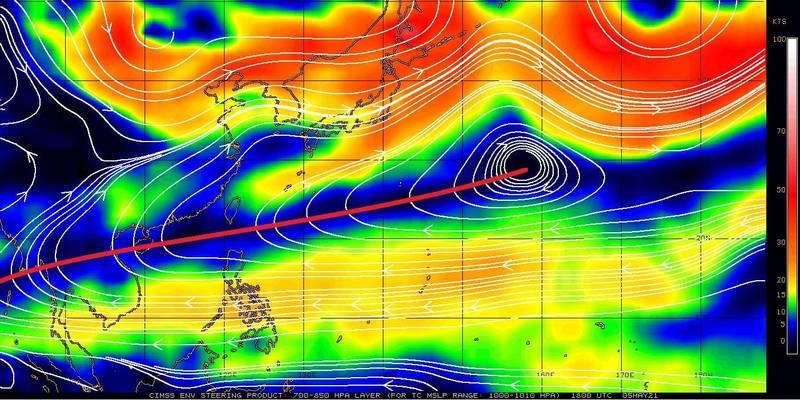 梅雨變沒雨?鄭明典PO圖憂:今年副熱帶高壓「強到不正常」