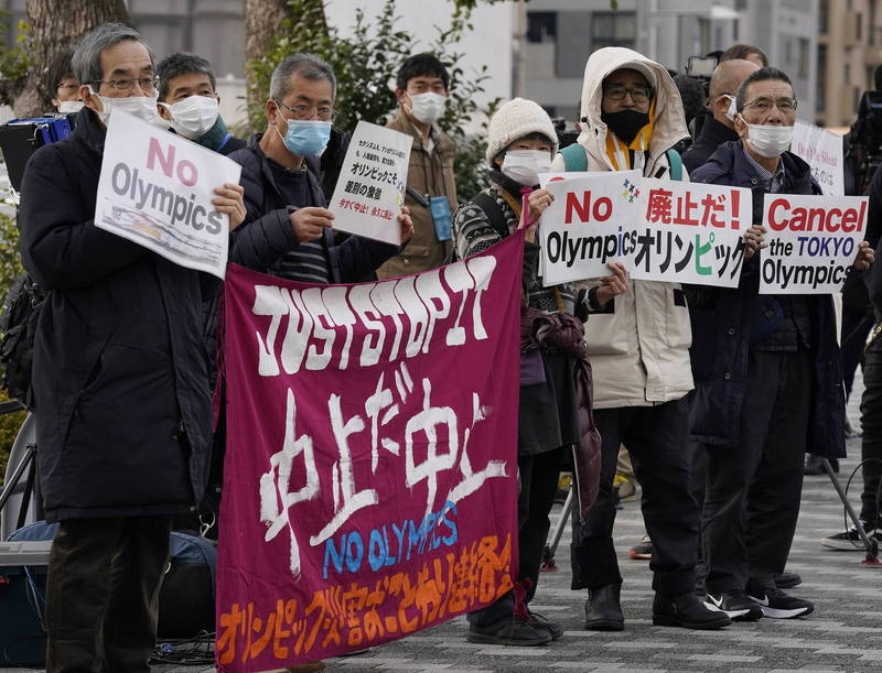雖然有大約70%~80%的日本公民希望奧運能取消或延期,但種種跡象卻表明奧運應該會如期舉行。(歐新社)