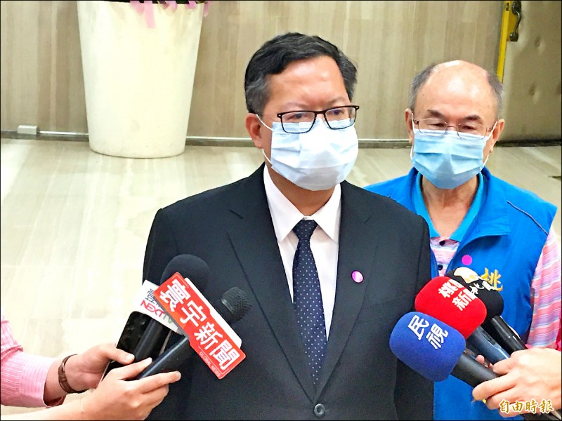 市長鄭文燦昨表示,會陸續向中央提報學校更新或新建計畫。(記者謝武雄攝)
