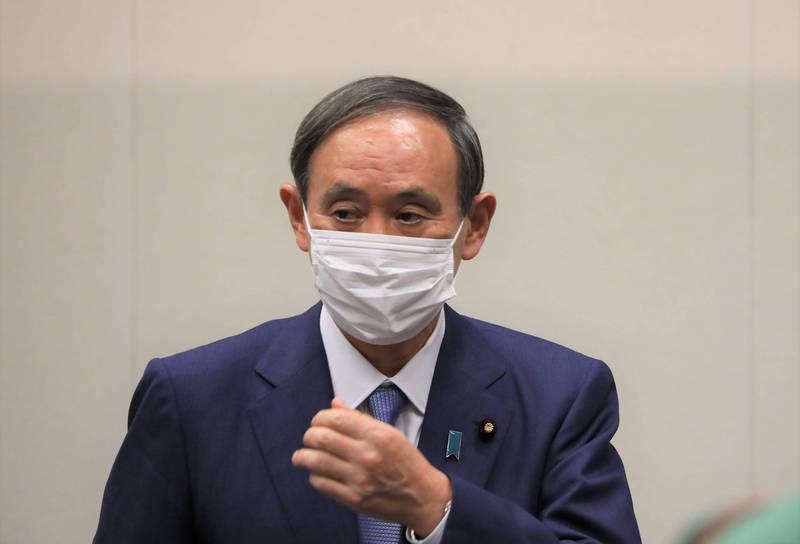 日本政府7日晚間將宣布正式延長緊急事態宣言至本月31日。(中央社)