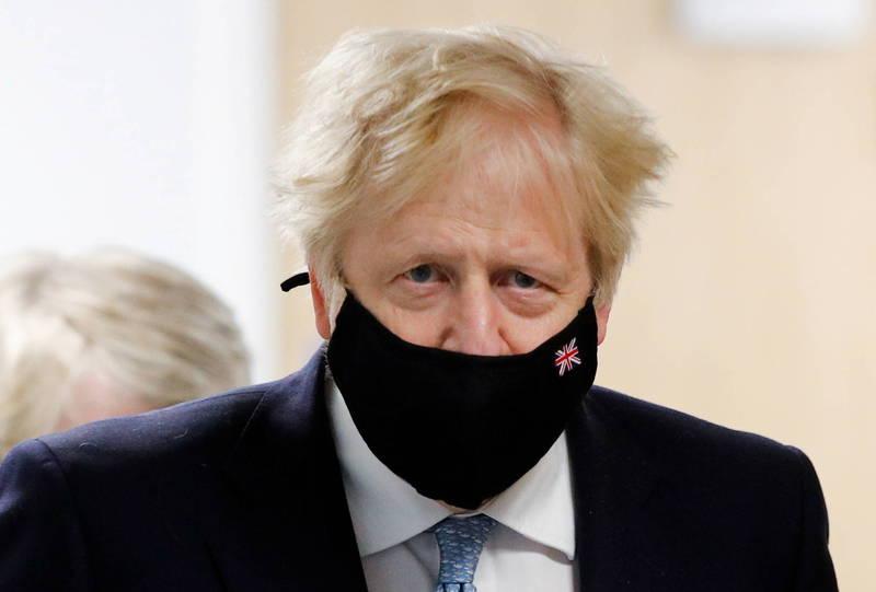 英國今日公布哈特浦選區的議會席次補選結果,首相強森(見圖)的保守黨獲得歷史性大勝。(美聯社資料照)