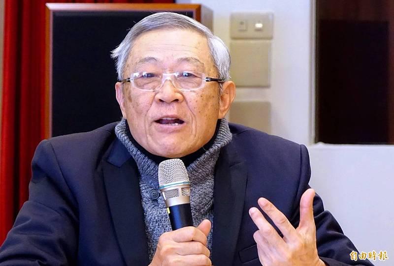 前總統馬英九的重要兩岸智囊、淡江大學中國大陸研究所榮譽教授趙春山。(資料照)