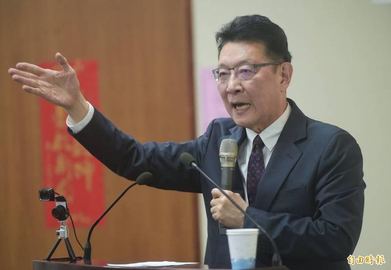 中廣董事長趙少康呼籲蔡總統約見AIT,要求美國國務院聯合英法等國向WHO提案邀請台灣參加WHA。(資料照)