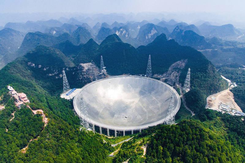 中方7日透過官媒宣布,「中國天眼有了新發現」。(美聯社檔案照)