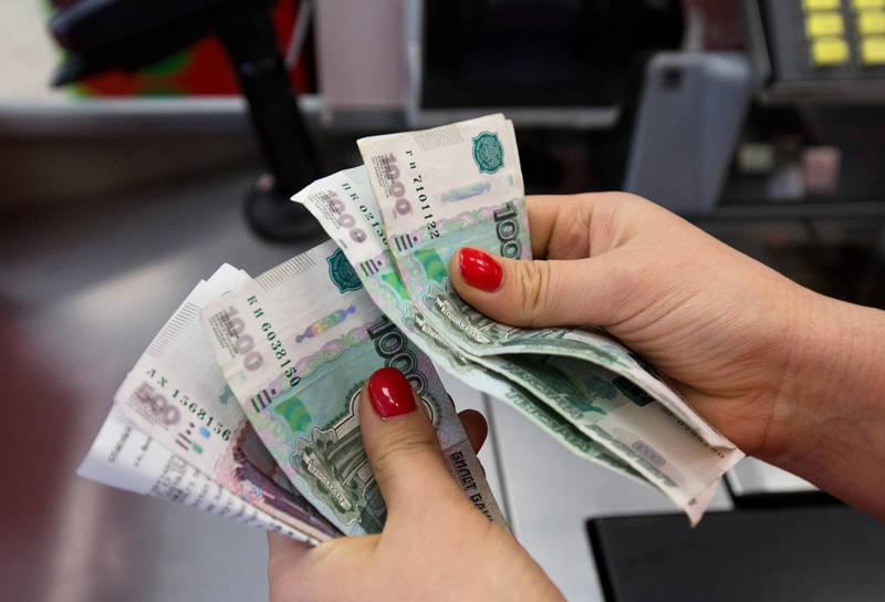 俄羅斯國內一項最新民調指出,79%民眾認為俄國官員的薪水高得不合理。(彭博檔案照)