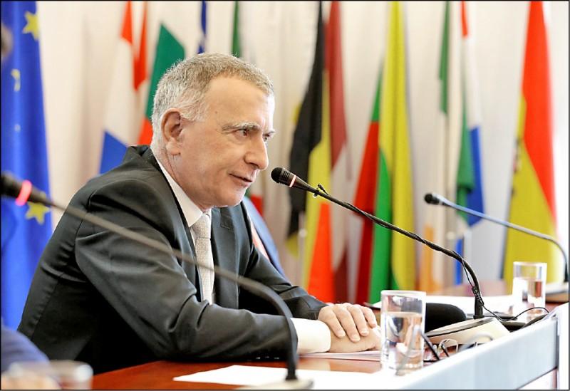 歐盟駐中國大使郁白指出,中、歐雙方在基本價值觀上的意見分歧日益增加。(路透檔案照)
