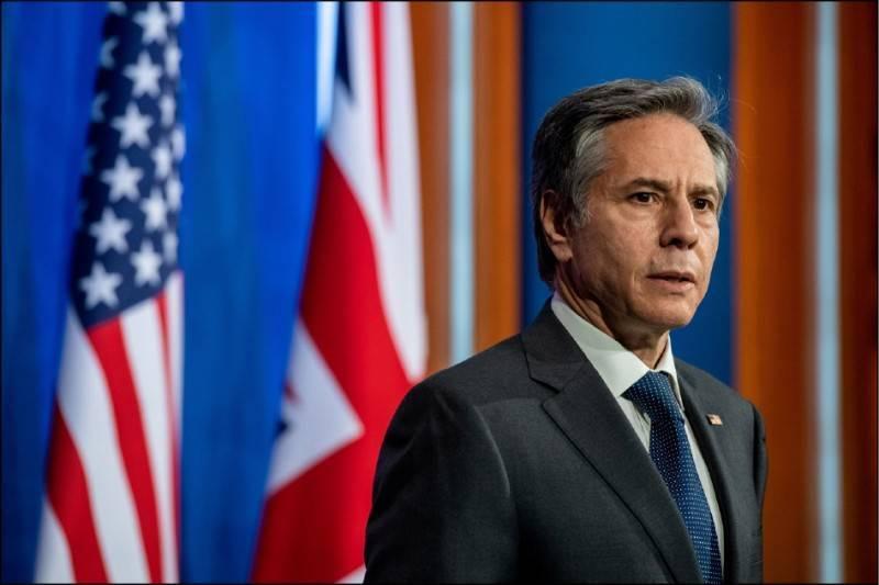 美國國務卿布林肯七日透過聲明表示,沒有排除台灣與會的合理理由,呼籲恢復台灣在WHA的適當地位。(路透檔案照)