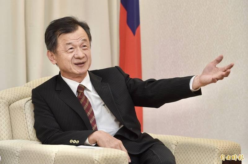 陸委會主委邱太三。(資料照)