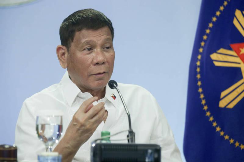 菲律賓總統杜特蒂(見圖)下令將國藥集團的疫苗退還給中國,中駐菲大使黃溪連稱此事「子虛烏有」。(資料照,美聯社)