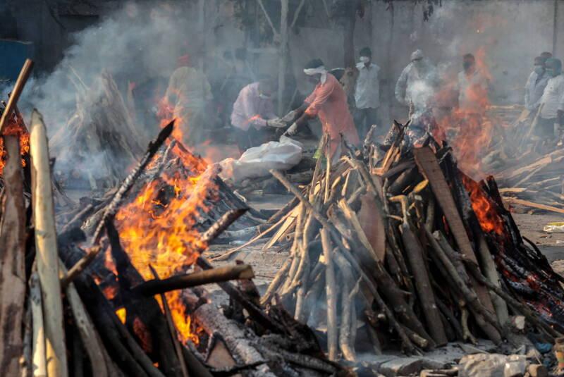 武漢肺炎》印度疫情嚴峻 《刺胳針》轟莫迪政府「不可原諒」