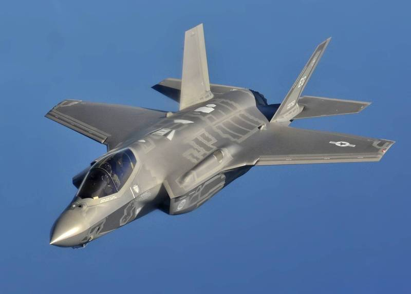 美國空軍F-35A「閃電II」(F-35A Lightning II)聯合攻擊匿蹤戰鬥機。(圖擷取自美國空軍官網)