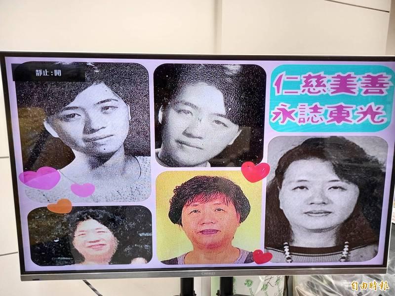 賴仁慈在東光國中服務35年。(記者江志雄攝)