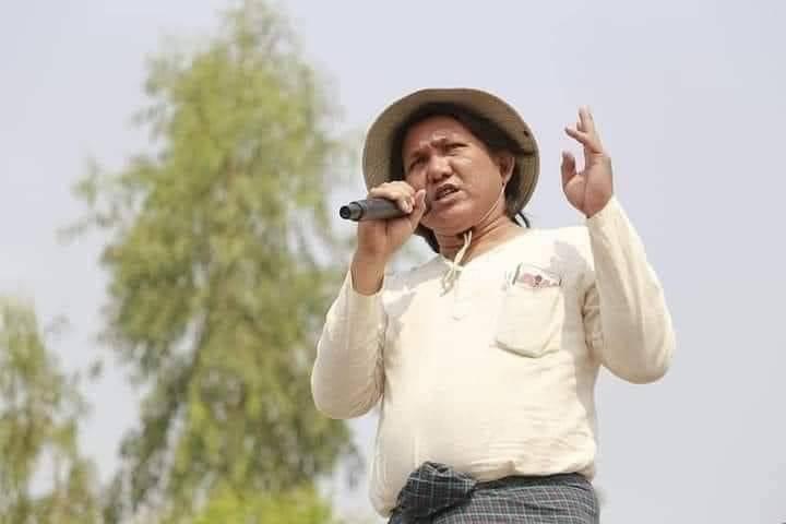 緬甸詩人肯西遭拘捕後死亡,妻子在醫院太平間看到他的遺體時,發現體內器官已被摘除。(圖擷取自推特)