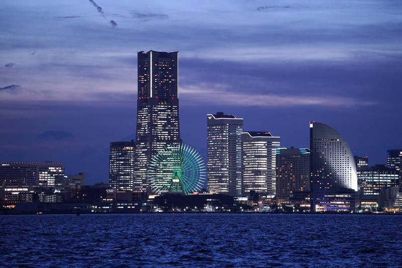 神奈川縣橫濱市連9年獲選「日本人最想居住的城市」。(彭博社資料照)