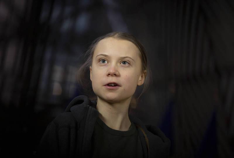 瑞典環保少女童貝里日前點名批評中國汙染環境,慘遭中官媒及網軍出征。(美聯社)