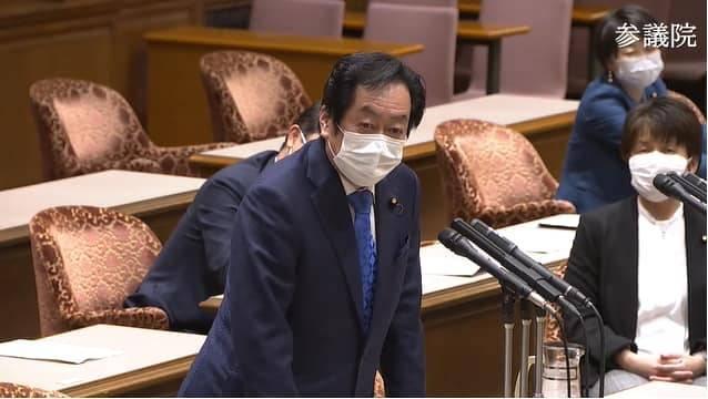 日本參議員石井章。(圖取自石井章臉書)
