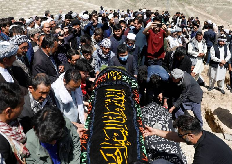 部分罹難者的葬禮已在週日舉行。(路透)