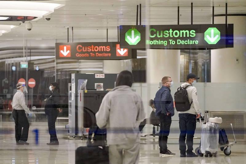 新加坡衛生部表示,樟宜機場第1、第3航廈所有員工都將接受檢測,第3航廈地下二樓今天起暫停對外開放。(歐新社檔案照)