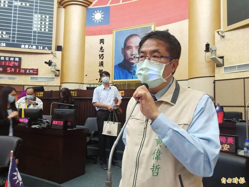 本土疫情升溫擴及社區感染,台南全大運開幕是否停辦?市府表示尊重成大決定。(記者王姝琇攝)