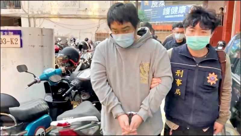 竹聯幫信堂分子吳定陽自組詐騙水房被警方逮獲。(記者姚岳宏翻攝)