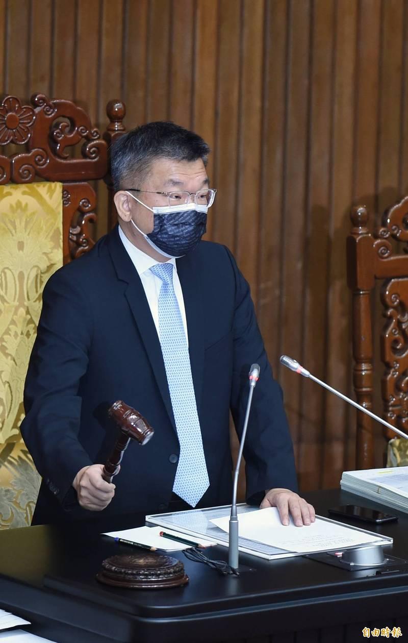 立法院院會今三讀通過「國立台灣歷史博物館組織法」、「國立台灣文學館組織法」。(記者劉信德攝)