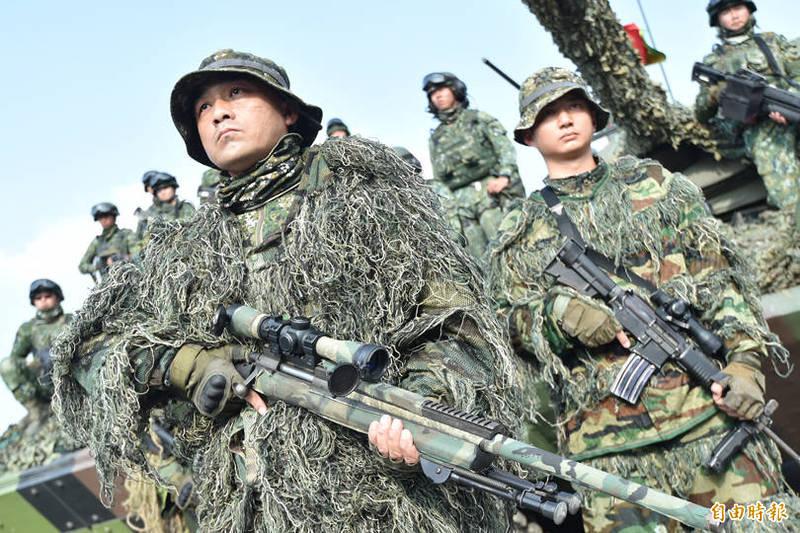 國防部今晚表示,自明天(5月12日)至6月30日止,暫停辦理後備軍人教育召集訓練,以避免群聚感染風險。(資料照)
